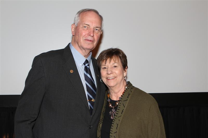 President Kenneth Dierschke and First Lady Binnie Dierschke