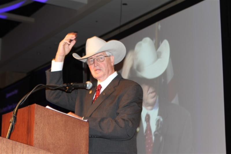 Texas Farm Bureau President Kenneth Dierschke